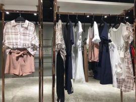杭州品牌折扣服饰相约四季服装直播货源