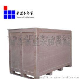 青岛木箱厂家按尺寸定做出口木箱上门组装木包装箱