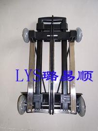 购物  款易牌X-02A多功能折叠手推车,送货车不锈钢底盘