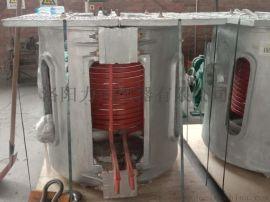 中频铝壳炉200KG500KG1000G节能炉感应加热炉中频炉配件工业炉炼钢炉-