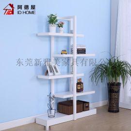 東莞傢俱廠現代簡約客廳臥室裝飾置物架
