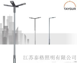 泰格LED照明,热镀锌路灯杆,8米新农村道路照明