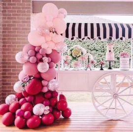 昆明花語花香氣球慶典氣球私人定制氣球派對