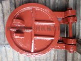 铸铁镶铜圆拍门厂家 铸铁镶铜圆拍门