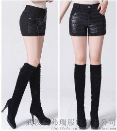 国内女装走份子牧冬装新款鸭绒裤