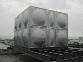 房顶水箱 统用玻璃钢水箱 不锈钢净化水箱材料