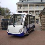 8座封閉式電動觀光車,多功能電動四輪車