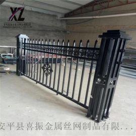 现货锌钢护栏 铁艺围墙护栏 河北锌钢围栏厂