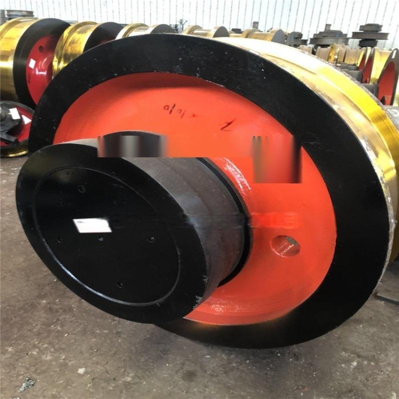 起重機天車鍛鋼車輪組 角箱鑄鋼車輪組