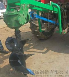 栽树多用途地钻机   拖拉机后置挖穴机