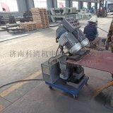 山东济南压力容器厂钢板铣边机自动行走平板铣边机