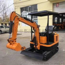 新型挖坑机 履带式小型挖掘机报价 都用机械开沟机果