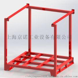 巧固架 钢制堆垛架铁架子可堆叠固定式移动货架