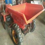 直銷工地爛路物料運輸車 正規生產施工用前卸式翻斗車