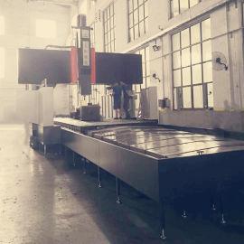 大恒机床8米数控龙门铣床国产好机床