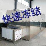 醬料調料包速凍機 不鏽鋼絲網隧道速凍機