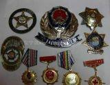 西安純銀紀念章,戰友聚會紀念銀章定製開模
