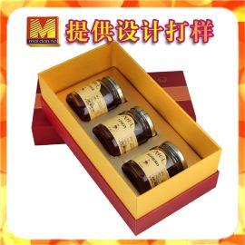 秦岭土蜂蜜包装盒 食品工艺盒礼品盒定做 蜂蜜精品盒印刷设计新款