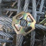 边坡防护网 钢丝绳网 环形网 柔性防护网