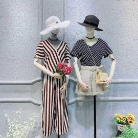 外套女装韩版贵阳她衣柜门店地址库存尾货服装女式T恤女装雪纺连衣裙