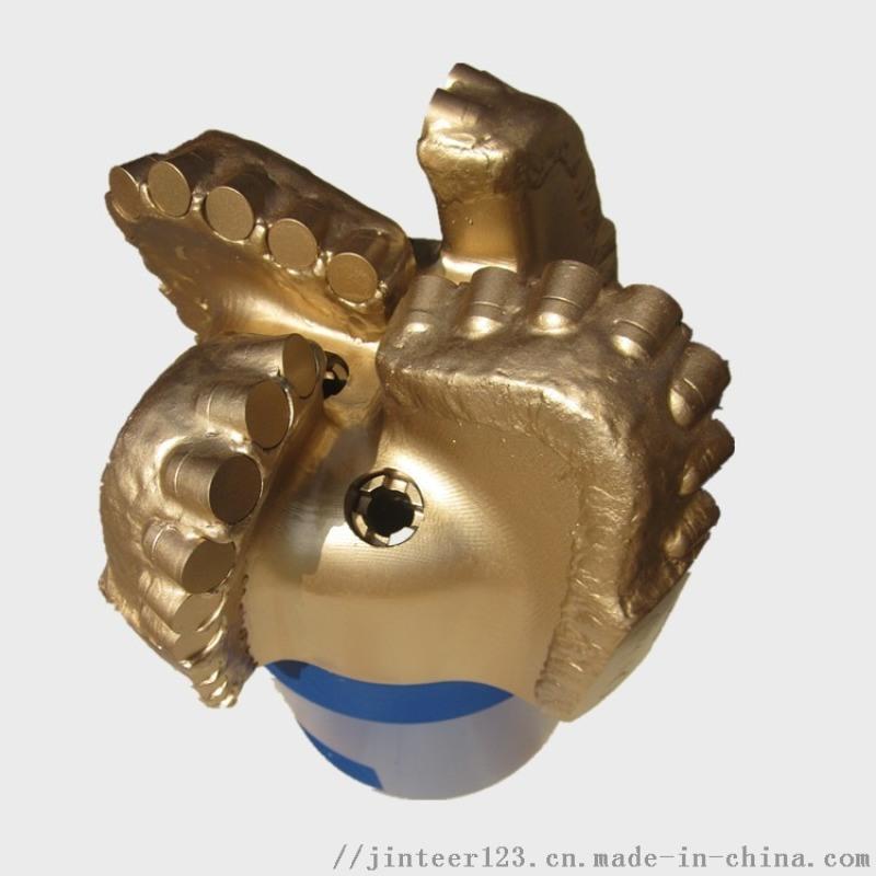 PDC四刀翼牙輪鑽頭非開挖地下管網工程