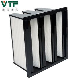 组合式高效过滤器 空调风柜大风量玻纤亚高效效过滤器