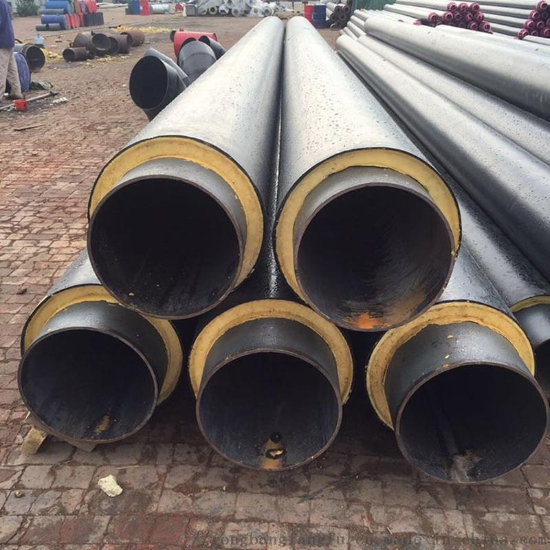 环保型钢套钢保温管,直埋钢套钢管道