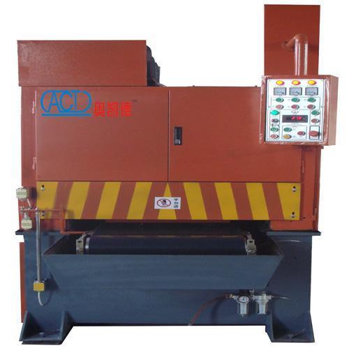 奥凯德不锈钢板表面拉丝机 MSB13不锈钢板表面拉丝机 不锈钢板表面拉丝机厂家
