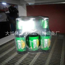 厂家直销啤酒膜包机 瓶装水热收缩包装机 整齐美观PE膜塑封包装