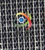供应1000D4.5*4.5摩挲PVC透明夹网布,箱包面料,网格布