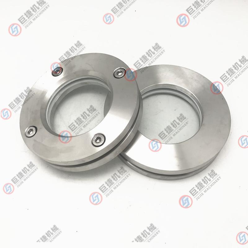 高品质 优质不锈钢法兰视镜 DN80 法兰视镜 内六角法兰视镜