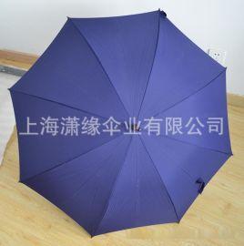 8骨木杆木柄直杆伞, 纯色直杆自动伞