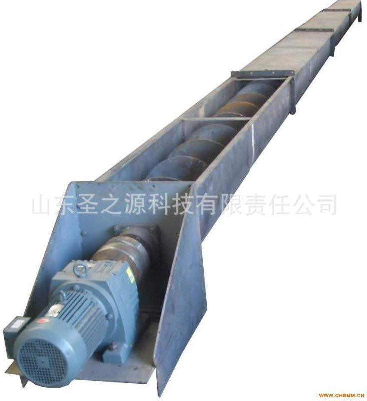 双螺旋上料机设备 螺旋喂料器 U型槽式螺旋输送机