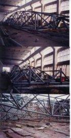 钢结构(体育馆顶部支承钢架结构工程)