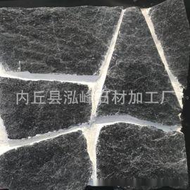供應黑色碎拼文化石 黃色塊石 木紋片石 黃褐色外牆文化石