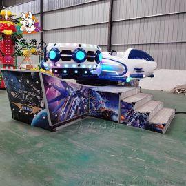 景区大型新款电动旋转飞机飞车游乐设备