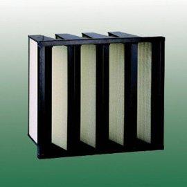 供应V-BANK型高效滤网,99.99%高效过滤器(过滤棉, 过滤网)
