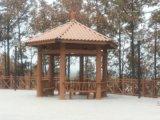 南京塑木涼亭、木塑花架、金剛木戶外地板、環保裝飾條