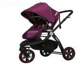 格诺卡卡欧式轻便高景观前后轮避震可折叠可坐可平躺双向婴儿推车