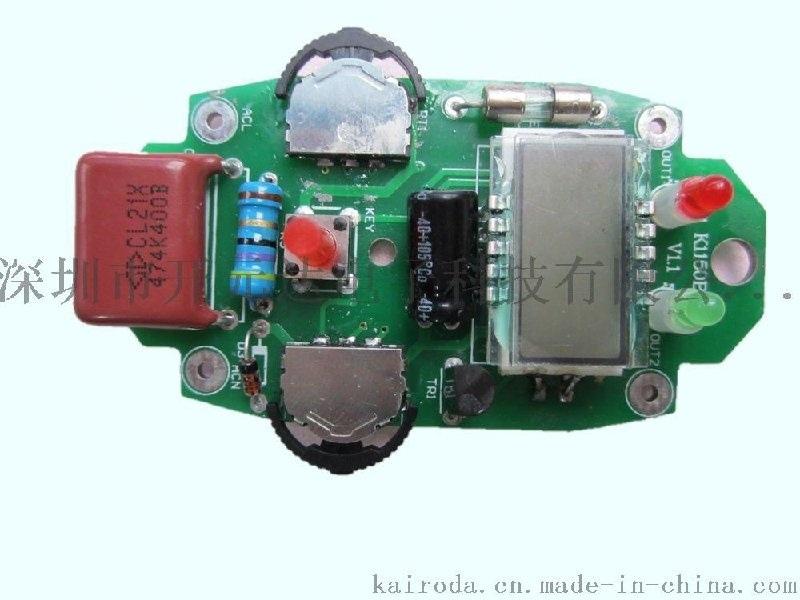 LCD液晶显示定时调温控制板