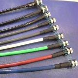 供应彩色包胶锁具钢丝绳