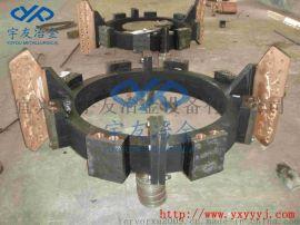 宇友冶金专业设计制作矿热炉集电环、汇流排、导电铜瓦