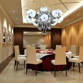 现代简约客厅灯不锈钢时尚led水晶灯吸顶灯餐厅灯饰