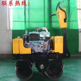 奔马BMY80武汉小型手扶压路机 双轮振动碾 回填土压实机全液压选配羊足碾 小型压路机