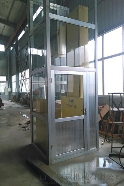 呼伦贝尔市上下楼梯困难/启运机械/  无障碍升降平台 旧楼加装电梯 家用电梯厂家直销