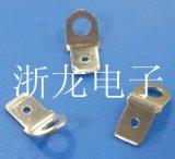 250,6.3插片圆形上螺丝公端子,6.3弯形端子