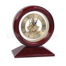 木制时钟摆件