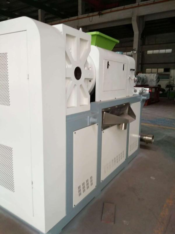 PE薄膜塑料回收挤干机源头生产厂家