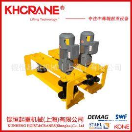 上海厂家直销1t2t3t5t欧式电动端梁悬挂端梁起重机行车电动台车