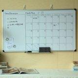 福建廠家定製 日曆磁性寫字白板 鋁框分格掛式辦公車間告示記錄牆